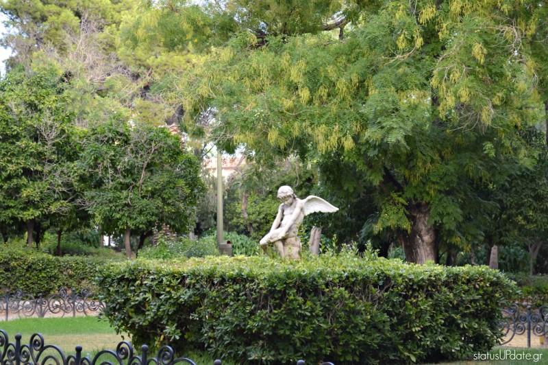 Ο έρωτας-άγαλμα Ζαππείου